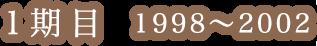 1期目2002-2006